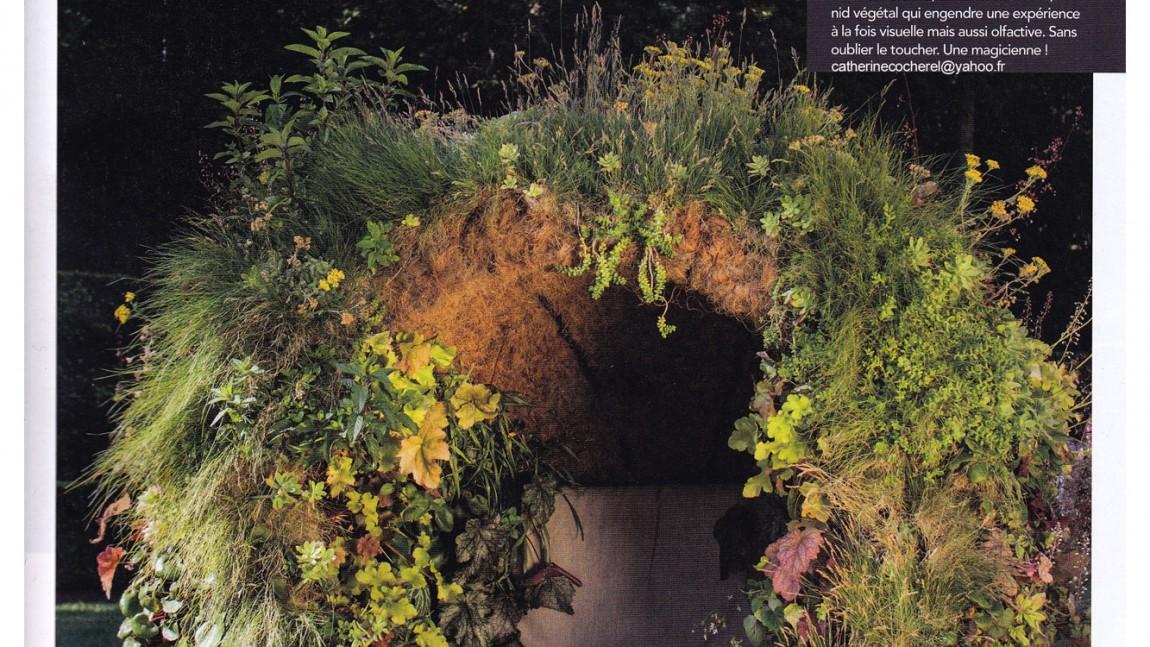 Parution dans le magazine «Les plus beaux Jardins» septembre 2014
